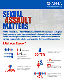 SEXUAL ASSAULT MATTERS facts about campus sexual assault