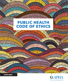 cover of Public Health Code of Ethics