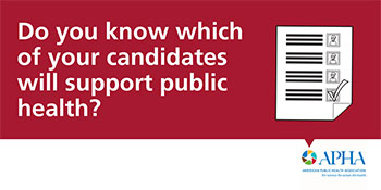 Do you  know which of your candidates will support public health?