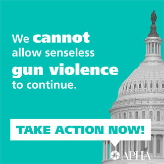 We cannot allow senseless gun violence to continue take action now