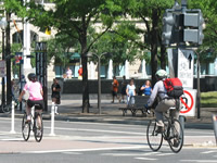 Cycling in Washington DC