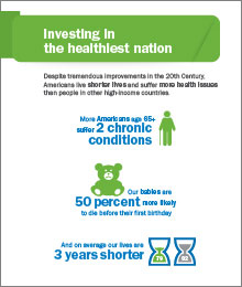 thumbnail of investing in the healthiest nation infographic